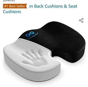 Memory Foam Back Support Seat Cushion-NWOT